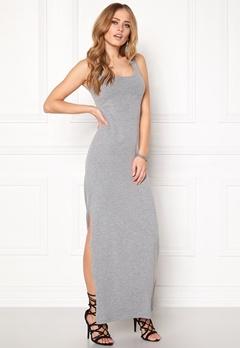 VILA Honesty New Maxi Dress Light Grey Melange Bubbleroom.eu