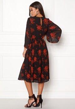 VILA Jelana 3/4 Sleeve Dress Black Bubbleroom.eu