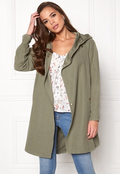 VILA Lake Loose Jacket Vetiver Bubbleroom.eu