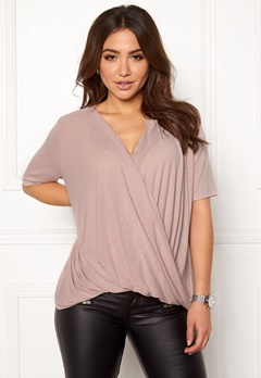 VILA Lolla S/S T-shirt/PB Adobe Rose Bubbleroom.eu