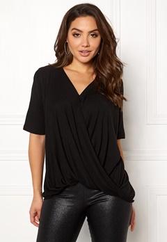 VILA Lolla S/S T-shirt/PB Black Bubbleroom.eu