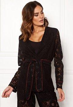 VILA Luas Lace Blazer Black Bubbleroom.eu