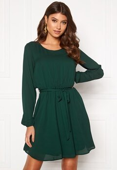 VILA Lucy L/S Dress Pine Grove Bubbleroom.eu