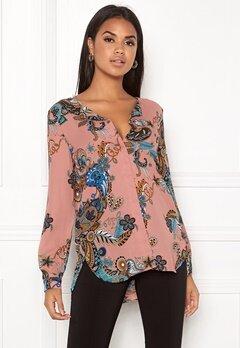 VILA Lucy L/S Shirt Ash Rose Bubbleroom.eu