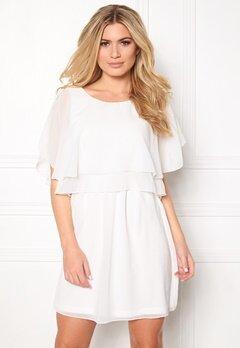 VILA Magile s/s Dress Snow White Bubbleroom.eu