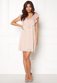 VILA Maka s/l Dress Silver Peony Bubbleroom.eu