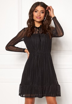 VILA Manja L/S Dress Black Bubbleroom.eu