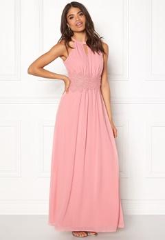 VILA Milina Halterneck Dress Bridal Rose Bubbleroom.eu