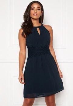 VILA Milina Halterneck Dress/Su Noos Total Eclipse Bubbleroom.eu