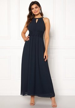 VILA Milina Maxi Dress Total Eclipse Bubbleroom.eu