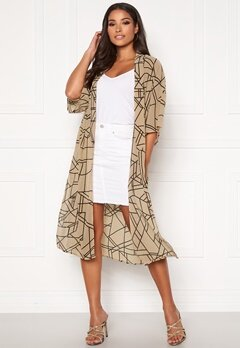 VILA Nema 3/4 Aop Cover Up Nomad Bubbleroom.eu