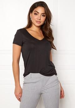VILA Noel S/S T-shirt Black Bubbleroom.eu