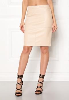 VILA Pen New Skirt Sandshell Bubbleroom.eu