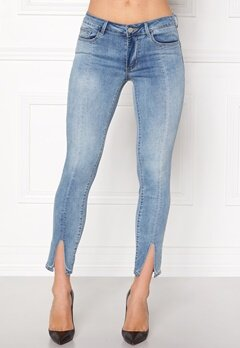 VILA Petal Super Slim Jeans Medium Blue Denim Bubbleroom.eu