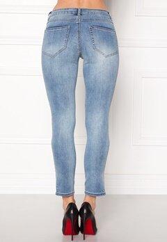 VILA Petal Super Slim Jeans Medium Blue Denim Bubbleroom.eu