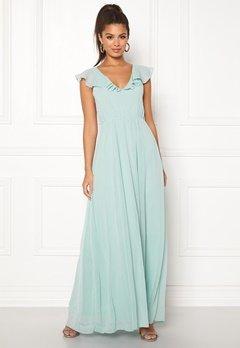 VILA Rannsil S/L Maxi Dress Blue Haze Bubbleroom.eu