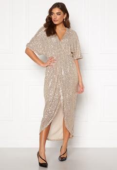 VILA Savias 2/4 Midi Dress Silver Peony Bubbleroom.eu