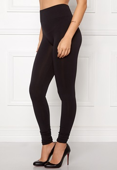 VILA Seam Long Leggings Black Bubbleroom.eu