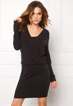 VILA Several L/S Dress Black Bubbleroom.eu