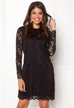 VILA Stasia Lace A-Shape Dress Black Bubbleroom.eu
