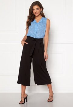 VILA Vero Cropped Pants Black Bubbleroom.eu
