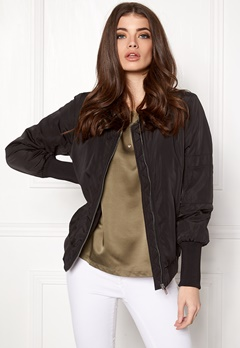 VILA Viconcrete new jacket/4 Black Bubbleroom.eu