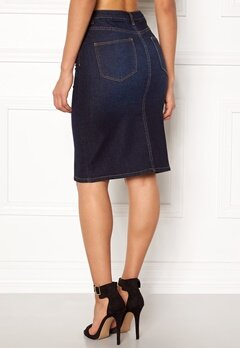 VILA Vicutit Denim Skirt Medium Blue Denim Bubbleroom.eu