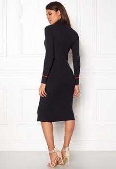 VILA Visoldana Knit Dress Dark Navy Bubbleroom.eu