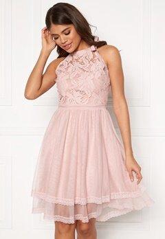 VILA Zinna New S/L Dress Pale Mauve Bubbleroom.eu