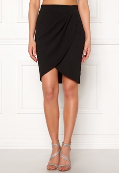 SELECTED FEMME Vira MW Skirt Black Bubbleroom.eu