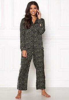 Love Stories Weekend Pyjama Pants Black Bubbleroom.eu