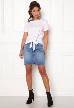 OBJECT Win New Denim Skirt Medium Blue Denim Bubbleroom.eu