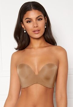 Wonderbra Perfect Strapless Bra Golden tan Bubbleroom.eu