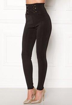 WOW COUTURE Adora Bandage Pants Black Bubbleroom.eu