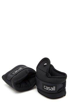 Casall Wrist Weights 2x2kg 901 Black Bubbleroom.eu