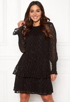Y.A.S Adele LS Dress Black Bubbleroom.eu