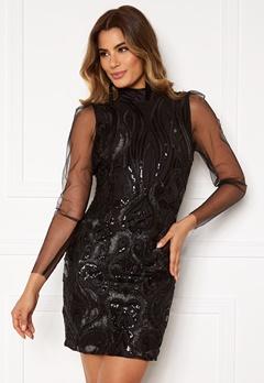 Y.A.S Ava LS Dress Black Bubbleroom.eu