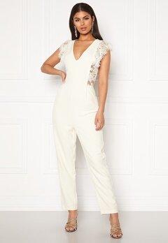 Y.A.S Beatrice SL Ankle Jumpsuit Star White Bubbleroom.eu