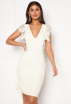 Y.A.S Beatrice SL Dress Star White Bubbleroom.eu