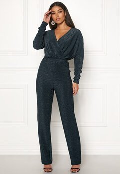 Y.A.S Bey LS Jumpsuit Evening Blue Bubbleroom.eu