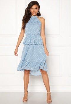 Y.A.S Cecilia Dress Alaskan Blue Bubbleroom.eu