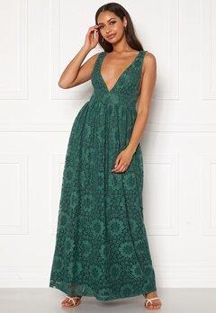 Y.A.S Cheshire SL Maxi Dress Evergreen Bubbleroom.eu