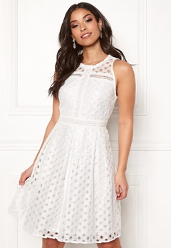 Y.A.S Circle S/L Dress Star White Bubbleroom.eu