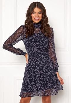 Y.A.S Coralla LS Dress Dark Sapphire Bubbleroom.eu