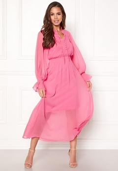 Y.A.S Debra L/S Dress Sachet Pink Bubbleroom.eu