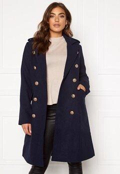 Y.A.S Goldian Wool coat Navy Blazer Bubbleroom.eu