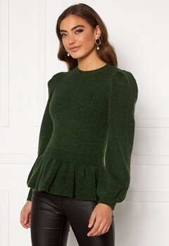 Y.A.S Marilyn LS Knit Pullover Sycamore Bubbleroom.eu