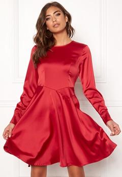 Y.A.S Meo LS Dress Haute Red Bubbleroom.eu