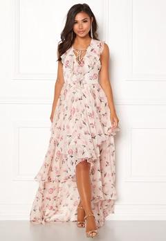Y.A.S Most S/L Maxi Dress Star White Bubbleroom.eu