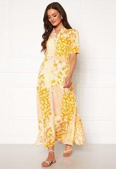 Y.A.S Patcha SS Ankle Dress Golden Haze Bubbleroom.eu